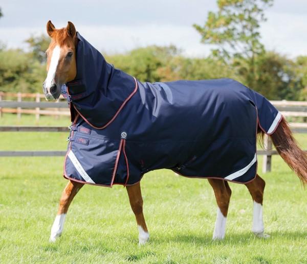 Premier Equine Weidedecke Titan 100g Turnout Rug mit Halsteil